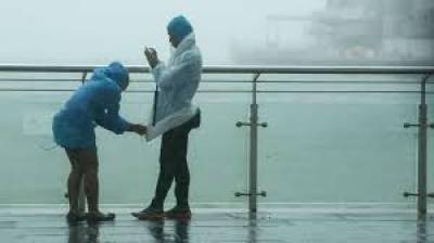 سمندری طوفان جنوبی بحیرہ چین میں داخل ،شمالی چینی علاقے دھند اور دھوئیں کی لپیٹ میں آ گئے