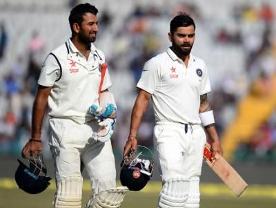 موہالی ٹیسٹ: انگلینڈ کی ٹیم 283 رنز پر آﺅٹ ، بھارت نے 6 وکٹوں پر 271 رنز بنا لئے، مزید 12 رنز کا خسارہ باقی