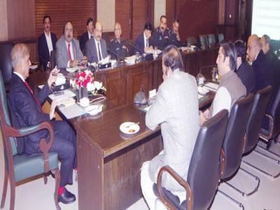 پنجاب میں سماج دشمن عناصر، جرائم پیشہ افراد اور اشتہاریوں کے خلاف بڑے پیمانے پر کریک ڈاؤن کا حکم