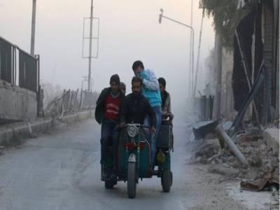 شامی فوج کی باغیوں کے زیرانتظام علاقوں میں پیش قدمی ، شہریوں کی نقل مکانی کا عمل شروع