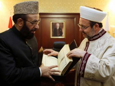 وفاقی وزیر مذہبی امور سردار محمد یوسف کی ترک ہم منصب سے ملاقات ،باہمی تعاون کو مزید مستحکم بنانے پر اتفاق