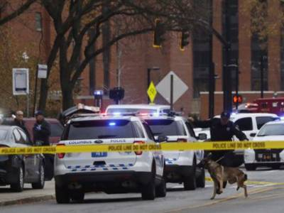 اوہائیو یونیورسٹی میں فائرنگ سے 9طلبہ زخمی ،حملہ آور ہلاک