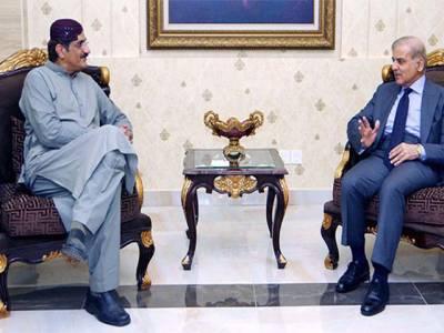 مراد علی شاہ کی شہباز شریف سے ملاقات ،بین الصوبائی رابطہ بڑھانے پر اتفاق