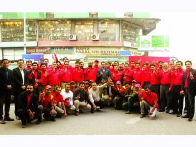 شیل کی جانب سے پاکستان میں'وی پاور' فیول متعارف، لبرٹی فلنگ سٹیشن پر افتتاحی تقریب