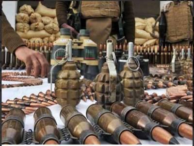 بلوچستان کے ضلع کوہلو میں لیویزکی کارروائی، اسلحے کی بڑی کھیپ پکڑی گئی