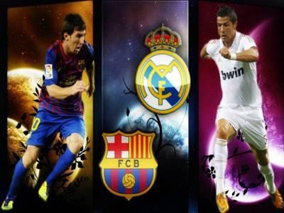 سپینش فٹبال لیگ میں سب سے بڑا مقابلہ ، رونالڈو کی ریال میڈرڈ اور میسی کی بارسلونا آمنے سامنے