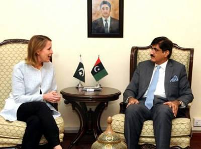 وزیراعلیٰ سندھ سے نے لاڑکانہ کے طالبعلم احمد کیلئے امریکی ویزے کی درخواست امریکی قونصل جنرل کو دیدی