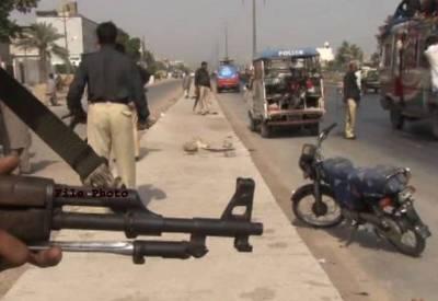 کراچی میں پی آئی بی پولیس چوکی پر دستی بم حملہ ، نا معلوم افراد بم پھینک کر فرار