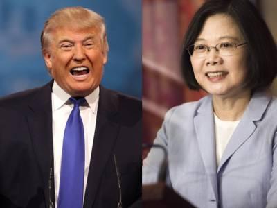 نومنتخب امریکی صدر ڈونلڈ ٹرمپ کے تائیوان سے رابطے پر چین برہم