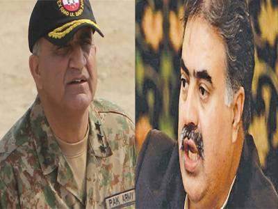 آرمی چیف سے وزیر اعلیٰ بلوچستان کی ملاقات، امن و امان او رسی پیک کی سکیورٹی پر تبادلہ خیال