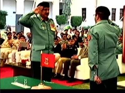 میجر جنرل محمد سعید نے ڈی جی رینجرز سندھ کا عہدہ سنبھال لیا