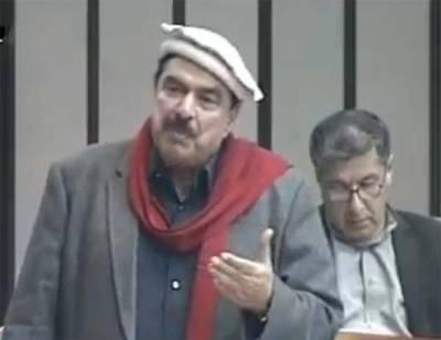 شیخ رشید کی قومی اسمبلی میں تقریر پی ٹی وی پر لائیو نشر کی گئی