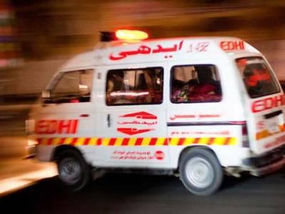 کندھ کوٹ کے ٹول پلازہ پر ٹریفک حادثے میں چھ افراد جاں بحق ،20زخمی
