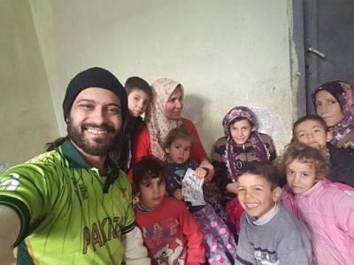 وقار ذکاءشام کے شہر حلب پہنچ گئے ، ویڈیو جاری