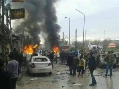 شام کے مغربی شہر جبلہ میں کاربم دھماکہ،28افراد جاں بحق ،درجنوں زخمی