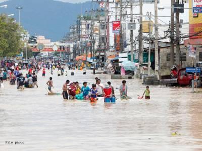 تھائی لینڈمیں شدید بارشوں اور سیلاب سے 12افراد ہلاک،ہزاروں بے گھر