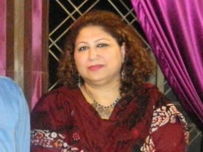 خواتین کے قتل کی بڑھتی ہوئی وارداتیں حکومتی دعوؤں کی نفی ہے : سعدیہ سہیل رانا