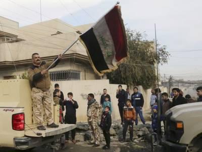 مشرقی موصل میں داعش کا خاتمہ ، عراقی فوج نے کنٹرول حاصل کرنے کے بعد فتح کا اعلان کر دیا