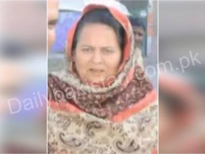 شاہدرہ : بہنوئی کی فائرنگ سے تحریک انصاف کی کونسلرشاہدہ پروین جاں بحق ، ملزم مقتولہ کی بیٹی کو ساتھ لے گئے