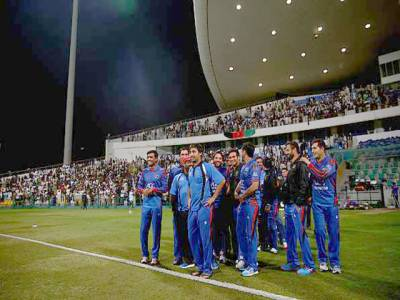 آئرلینڈ ناکام، افغانستان نے ڈیزرٹ ٹی ٹونٹی چیلنج کپ جیت لیا