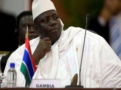 گیمبیا پر طویل عرصہ حکمرانی کرنے والے یحییٰ جامع کا حکومت چھوڑنے کا اعلان