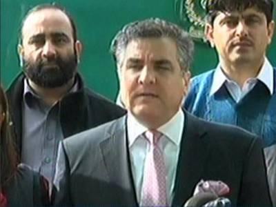 عمران خان نے چوری نہیں کی تو گھبرائیں نہیں اب تلاشی ہو گی: دانیال عزیز