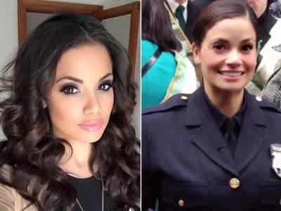 وہ خاتون پولیس اہلکار جو اتنی خوبصورت ہے کہ جرائم پیشہ افراد لڑنے کی بجائے خود قطار بنا کر گرفتاری دیتے ہیں