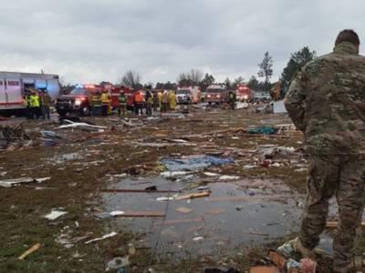 امریکہ میں سمندری طوفان نے تباہی مچادی ، 18 افراد ہلاک،متعدد زخمی، کئی مکانات تباہ