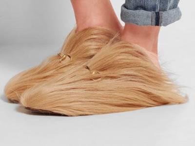 ڈونلڈ ٹرمپ کے بالوں سے مشابہہ جوتے بننا شروع ہوگئے
