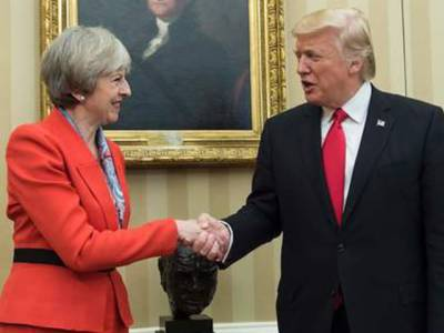 امریکی صدر نے نیٹوکو 100فیصد سپورٹ کرنےکی یقین دہانی کرائی ہے:برطانوی وزیر اعظم