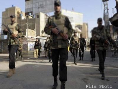 بوبی شانک کے علاقے میں ایف سی کا سرچ آپریشن ،ایک شر پسندہلاک ،اسلحہ برآمد