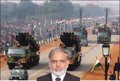 پاکستان کے خلاف بھارت کابھاری بھرکم دفاعی بجٹ