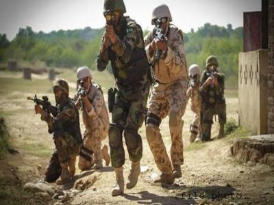 پاک فوج کی کارروائی،افغانستان سے دہشتگردوں کے داخلے کی کوشش ناکام بنادی