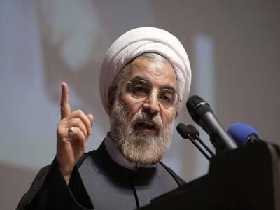 ایرانی قوم کو احترام سے مخاطب کیا جائے،دھمکیوں کی زبان استعمال کرنے والے شرمندگی اٹھائیں گے:ایرانی صدر