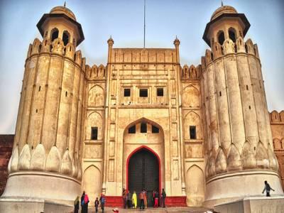 لاہورکے شاہی قلعہ کو سیاحوں کیلئے بند کردیا گیا