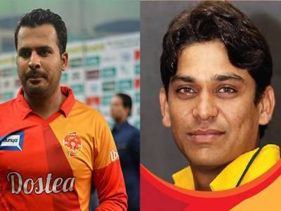 شرجیل خان اور خالد لطیف کے سنٹرل کنٹریکٹ کو معطل کردیا گیا