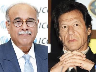 نجم سیٹھی کا سپاٹ فکسنگ کے خاتمے کی بات کرنا مذاق ہے : عمران خان