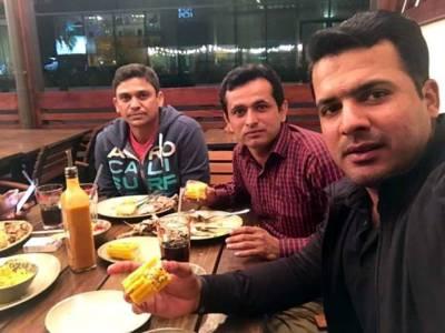 شرجیل خان اور خالد لطیف کیساتھ ملاقات کرنیوالے مبینہ بکی کی تصاویر منظرعام پر آ گئیں