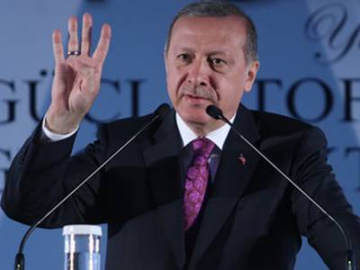 ترک صدر طیب اردگان کا اختیارات میں اضافے کیلئے تحاویز پر 16 اپریل کو ریفرنڈم کرانے کا اعلان