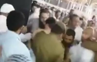مسجد الحرام میں خود کو آگ لگانے کی کوشش کرنیوالے شخص کی والدہ بھی منظرعام پر آگئی, دلخراش کہانی بیان کردی