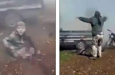 شامی فوج کی بمباری، چھوٹا سا بچہ اپنی ٹانگوں سے محروم ہوگیا اورپھر اس واقعہ کے فوراً بعد کیا کہہ رہا ہے؟ ایسی ویڈیو سامنے آگئی کہ پوری دنیا کورُلا دیا