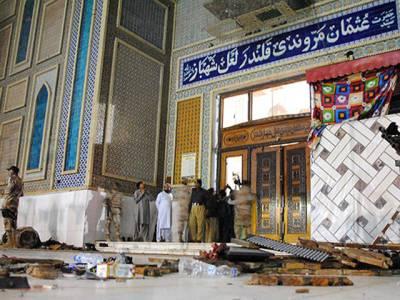 درگاہ حضرت لعل شہباز قلندر میں شہید ہو نے والوں کی تعداد88 ہو گئی ، 343 زخمیوں میں سے 41 کی حالت تشویش ناک :ڈی جی ہیلتھ سندھ