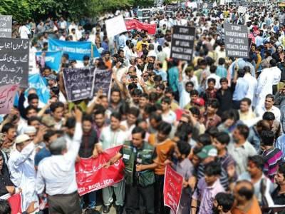 مال روڈ پر جلسے جلوس روکنے کے عدالتی فیصلے پر عمل کیوں نہیں ہورہا،ہائی کورٹ نے پنجاب حکومت سے جواب طلب کرلیا
