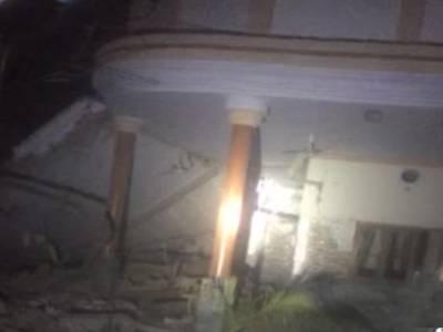بونیر میں نائب ناظم کے حجرے میں سلنڈر دھماکا ، 2افراد جاں بحق