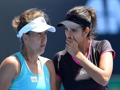ثانیہ مرزا کو دبئی اوپن ٹینس ویمنز ڈبلز سیمی فائنل میں شکست کا سامنا
