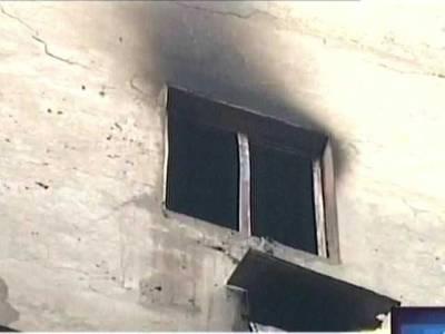 مزنگ میں واقع گھر میں آگ لگنے سے میاں بیو ی اور بچی جاں بحق