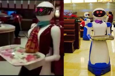 پاکستان کا وہ ریسٹورنٹ جہاں ویٹرانسان نہیں بلکہ روبوٹ ہیں