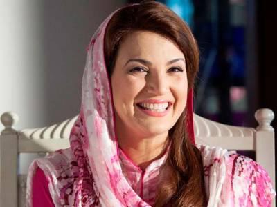 ریحام خان میچ دیکھنے قذافی سیٹڈیم پہنچ گئیں