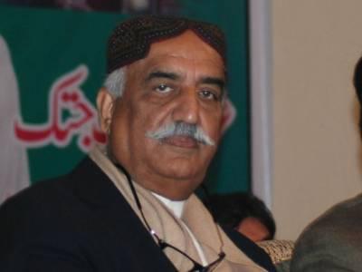 سٹیل مل کی زمین فروخت کی گئی تو پارلیمنٹ کے اندر اورباہر احتجاج کریں گے , تعلیم کے بغیر پاکستان ترقی نہیں کر سکتا ،حکومت تعلیمی بجٹ میں اضافہ کرے :سید خورشید شاہ