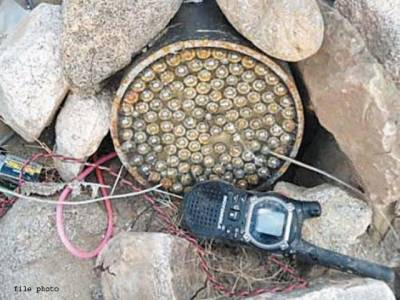 ہنگو،بم ڈسپوزل سکواڈ نے اینٹی ٹینک مائن ناکارہ بنا دی
